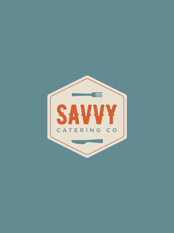 Savvy Catering Co Logo Design
